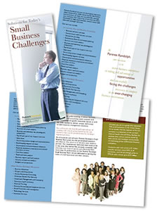 Small Business Group Trifold